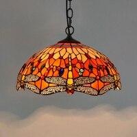 Американский пастырской творческий цвет стекло гостиная ресторан бар светильник в виде роз 40 см глазурованные люстра, подвесные светильни