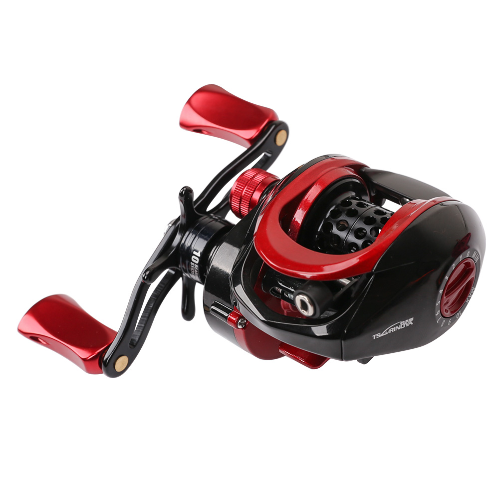 Tsurinoya XF - 50 6.6:1 Two Model Left / Right Hand Metal Deep Spool Optional 9 + 1BB Water Drop Wheel Bait Casting Fishing ReelTsurinoya XF - 50 6.6:1 Two Model Left / Right Hand Metal Deep Spool Optional 9 + 1BB Water Drop Wheel Bait Casting Fishing Reel