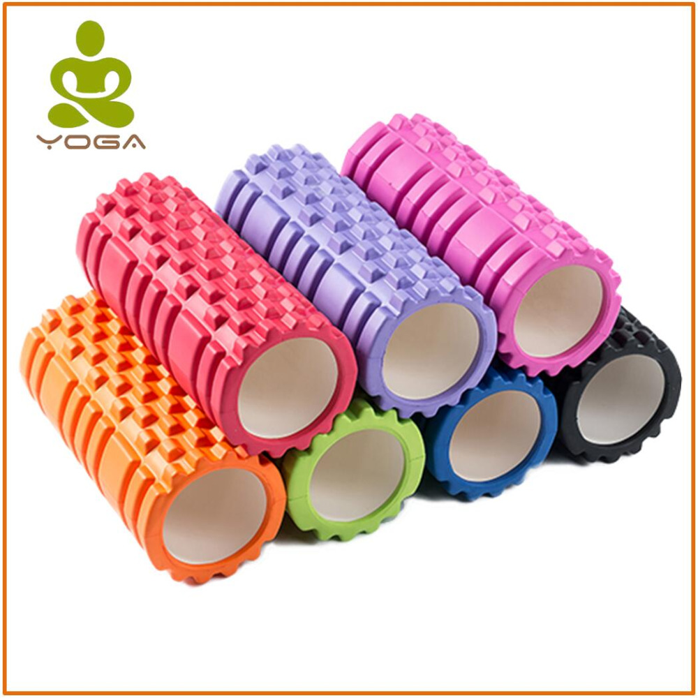 33x14cm Yoga Blocks EVA foam Crescent-shaped Yoga Roller Massage Roller Pilates Fitness Physiotherapy Rehabilitation