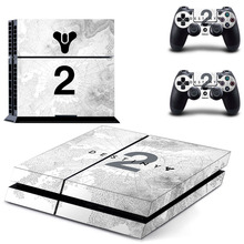 цена на Destiny 2 Hunter PS4 Skin Sticker Decal for Sony PlayStation 4 Console and Controller Skin PS4 Sticker Vinyl Accessories