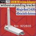 Totolink N150UA 150 Mbps Wireless N USB Adapter WIFI sem expandir suporte de alto desempenho 802.11bgn com antena destacável