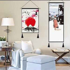Póster lienzo pintura arte de pared cuadro decoración del hogar colgar bandera tapiz tela dormitorio decoración de pared pintura búnker