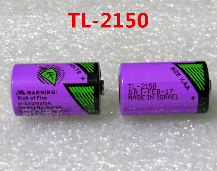 10pcs Original New For TADIRAN TL2150 TL 2150 1 2AA ER14250 14250 3 6V PLC Lithium