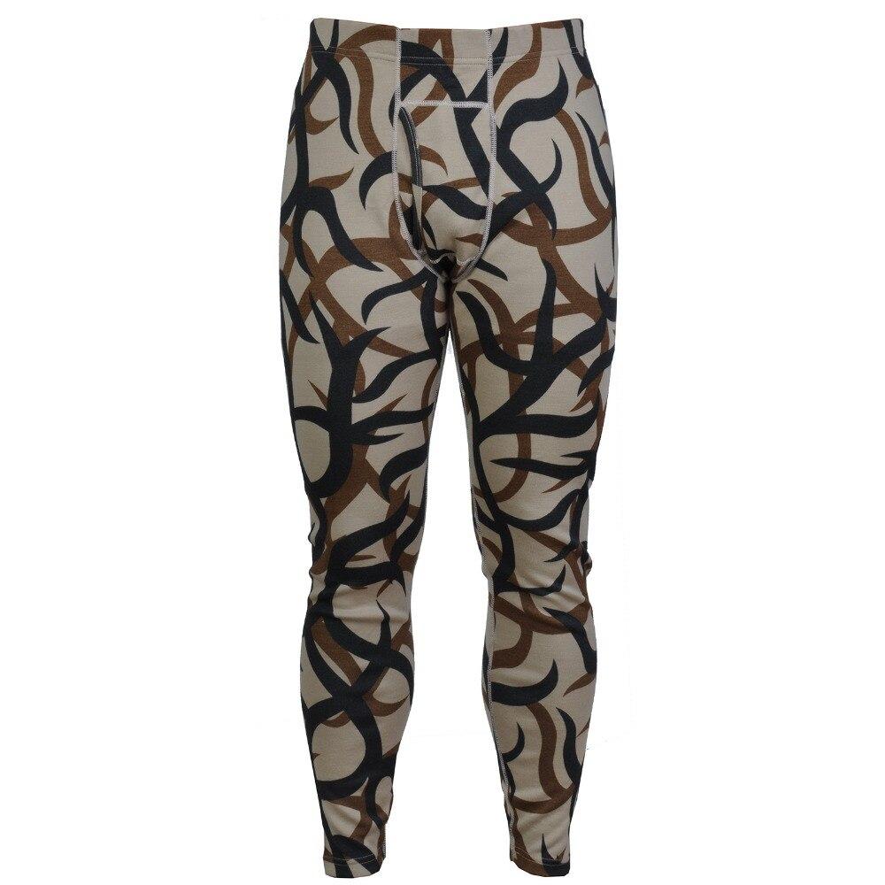 Erkek Kıyafeti'ten Rahat Pantolonlar'de Erkek 400g/m2% 100% Merinos Yünü renk Askeri Kamuflaj Ağır Kış Termal Sıcak Iç Çamaşırı Pantolon Alt Pantol'da  Grup 1