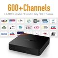 Android 6.0 TV Box Árabe IPTV Suscripción Caliente Francés Maroc alemania Deporte IPTV Canales de Correr Más Rápido Fuerte WIFI HDMI Media caja