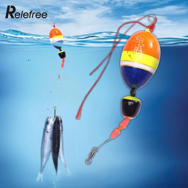 Relefree outdoor fishing float saltwater bobbers floating for Fishing floats types