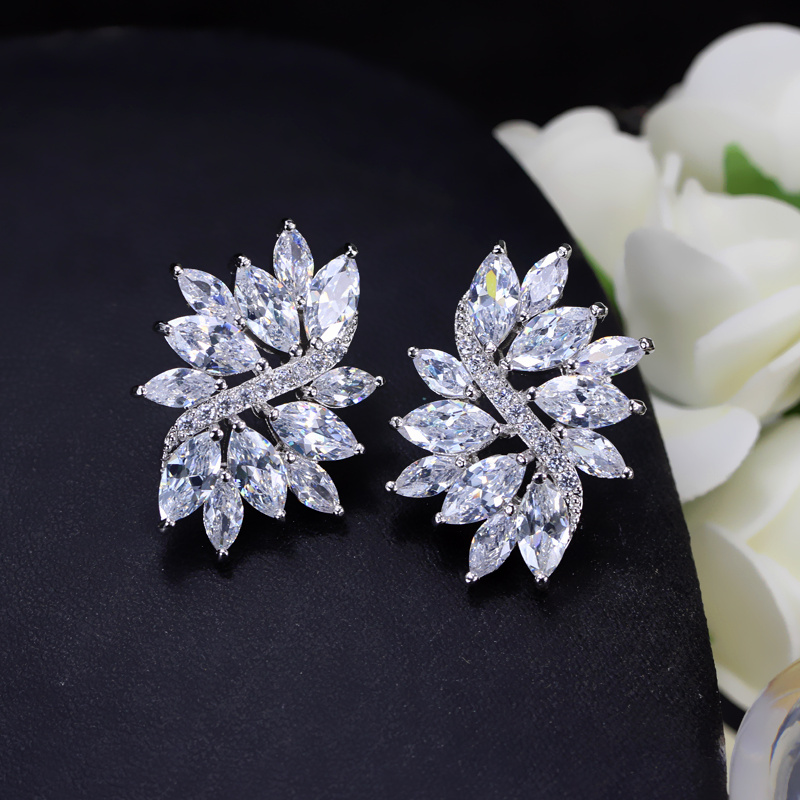 CWWZircons 2018 Новий Модний сріблястий - Модні прикраси - фото 4