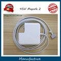 """Высокое Качество 14.85 В 3.05A Для Magsafe 2 45 Вт Ноутбук Адаптер Питания Зарядное Устройство Для apple MacBook Air 11 """"13"""" A1465 A1436 A1466"""