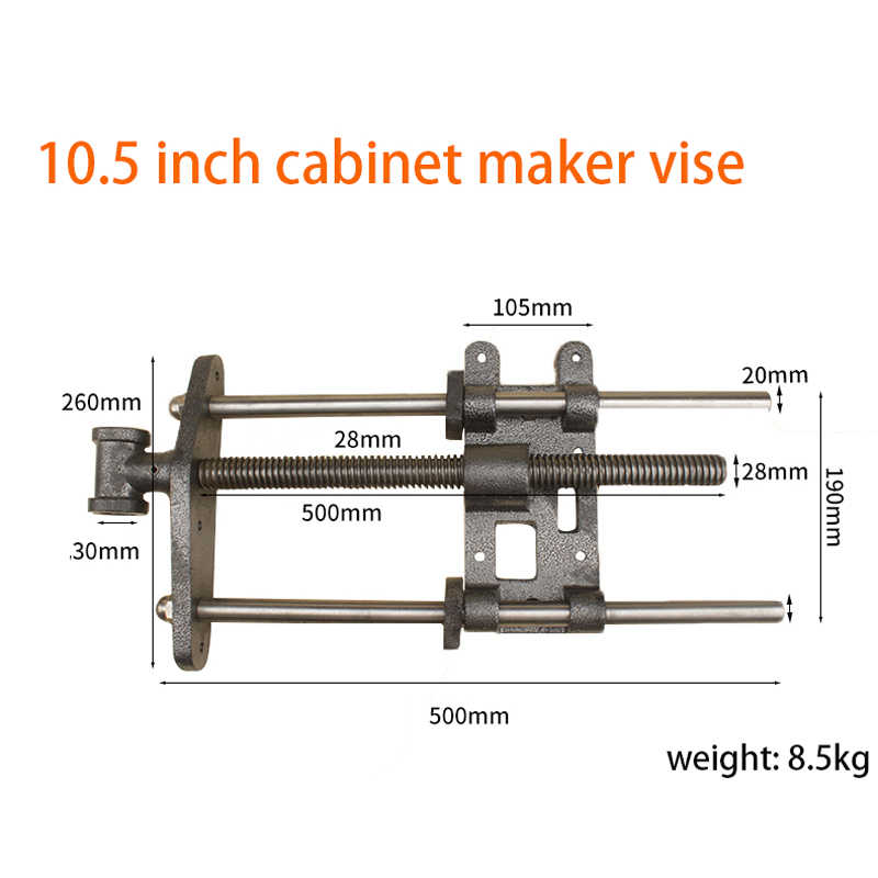 Sotrlo 10 5 Inch Cabinet Maker S Vise Woodworking Bench Clamp Heavy Duty Cast Steel Wood Work Table Clamping Vises Aliexpress