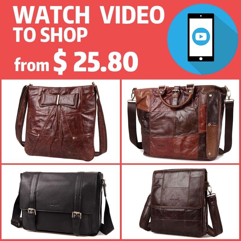 Cobbler Legend Clearance From $25.80 Genuine Leather Women Men Shoulder Bag Small Female Big Promotion Totes Gift Handbag Casual big promotion 100