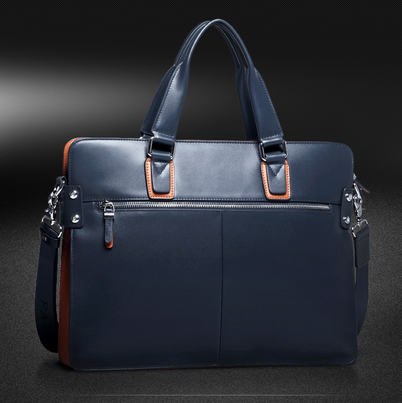 mens genuine leather briefcase bag (8)