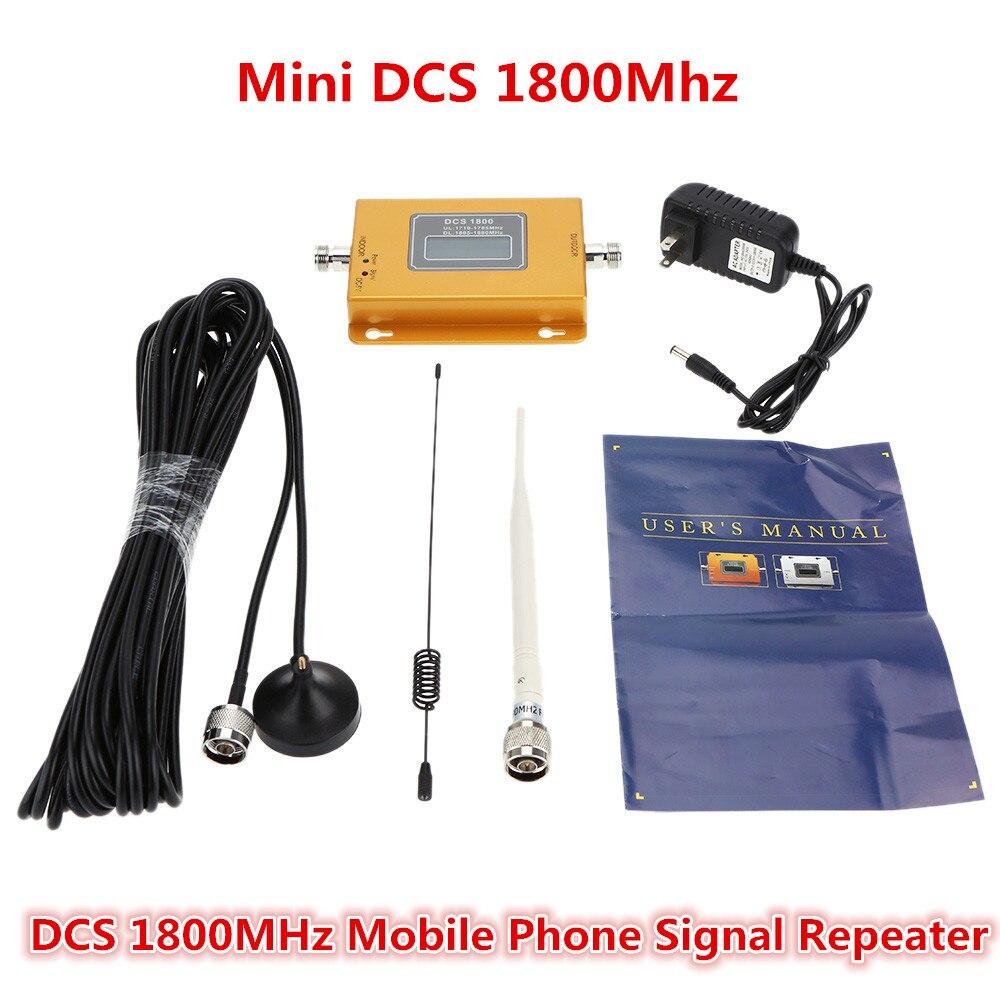 Ensemble complet GSM 4G LTE 1800 Répéteur 60dB GSM 4G DCS 1800 Amplificateur Cellulaire Mobile Signal Booster DCS 1800 mhz 4G Repetidor Antenne
