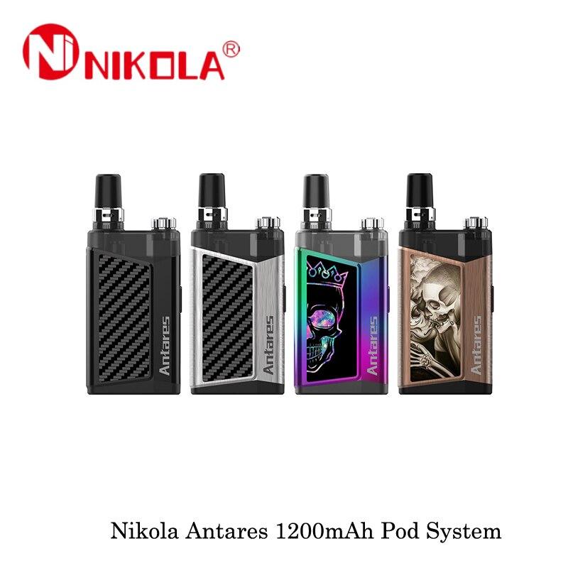 Electronic Cigarettes Nikola Antares Vape Pod System Kit 1200mAh 2ML Capacity All-in-one Vape Vaporizer VS Lost Vape Orion Kit