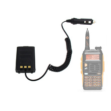 Baofeng GT-3 Walkie Talkie Battery Eliminator Car Charger for GT-3TP GT3 GT3TP &GT-3 Mark-II Mark-III  Two Way Radio