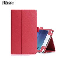 Flip Cover For Samsung Galaxy Tab A T350 T355 8 Inch Tablet Case With Hand Holder