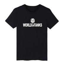 World Of Tanks 2017 New Summer T Shirt Mens Plus Size O-Neck Casual Tshirt  Fashion Brand Streetwear Hip Hop Short sleeve Tees