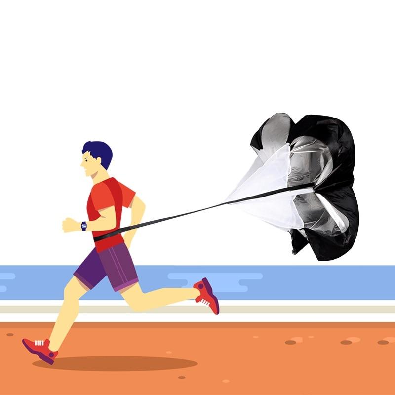 150 cm Allenamento di Ossigeno Allenamento di Resistenza Dei Paracadute Corsa e Jogging Scivolo Esercizio Football Misura della Velocità di Resistenza Fisica Attrezzature
