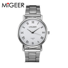 Women's Quartz Wristwatches Crystal Stainless Steel Wrist Watches Fashion Free Shipping Dropshipping relogio masculino M23
