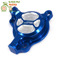 CNC Billet Aluminum Blue Engine Oil Filter Cover Cap For Yamaha YZ250F 03-13 WR250F 03-14 YZ450F 03-09 WR450F 03-15