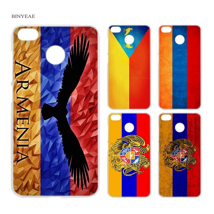 BINYEAE Armenia Flag Transparent Case Cover for Xiaomi Redmi 6 6A Pro Note  4 4X 5 0ffd6e9fe4e8