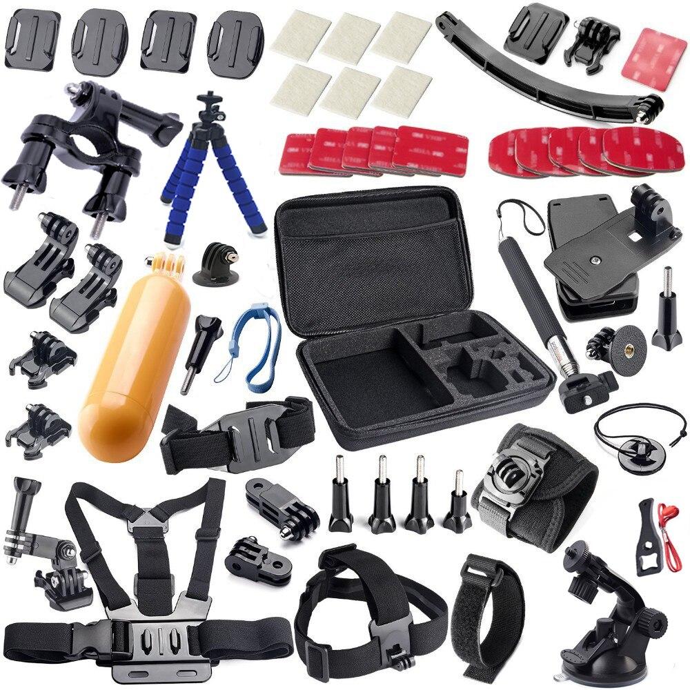 accessories kit for gopro go pro hero 4 3 5 m20. Black Bedroom Furniture Sets. Home Design Ideas