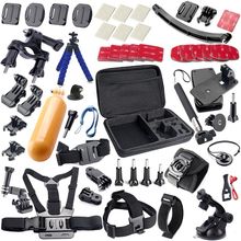 Accessories kit for gopro / go pro hero 4 3 5 / M20 / SJ5000 / EKEN H9R / xiaomi yi / sjcam Accessories set 21A
