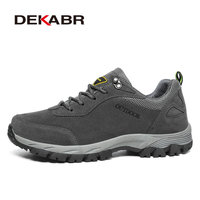 DEKABR Outdoor Hiking Shoes Walking Men Climbing Shoes Sport Sneakers Hunting Mountain Shoes Non Slip Breathable