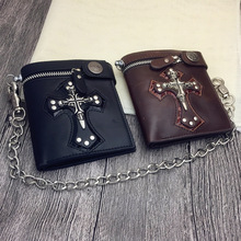 Men Women Wallet Luxury Long Wallets Female Vintage Skull And Rivet Phone Women Clutch Bag Designer Purses Famous Brand 2017