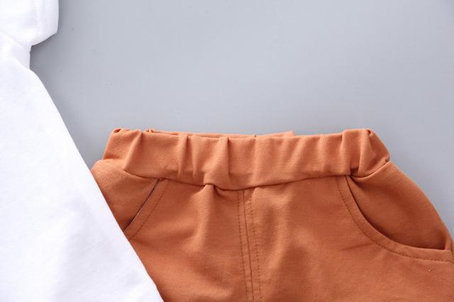 2-Piece Baby / Toddler Boy Shirt Design Print Top and Pants Set