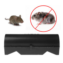 25x9,5x9,5 cm Reusable Plastic Maus Ratte Trap Catcher Nagetier Pest Control Köder Käfig Box(China)