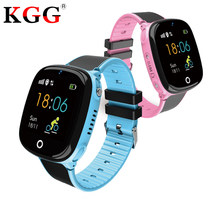 SOS Calling Children's Smart Watch GPS Tracker Kids Watches Phone Positioning IP67 Waterproof Watch For Boy And Girl(China)