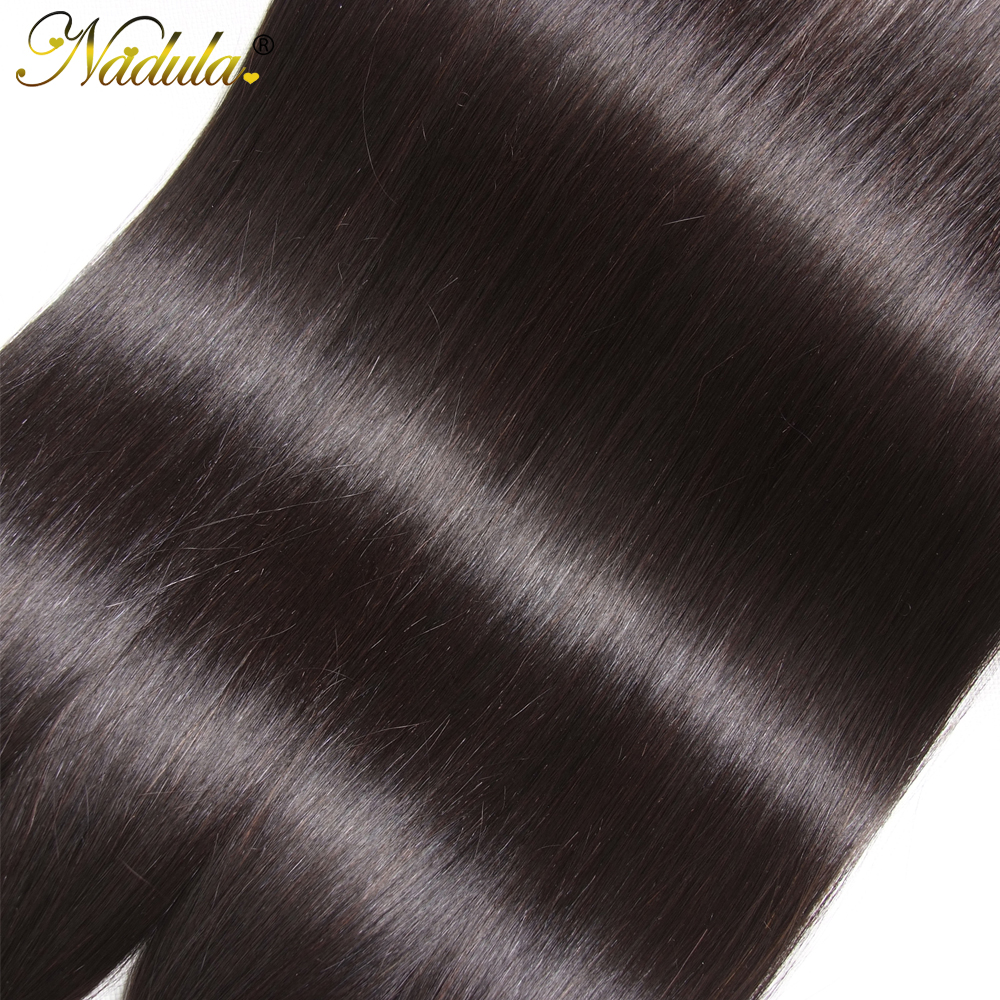 Nadula Hair 3piece/Lot  Straight Hair s 8-30inch Hair s Natural Color  Hair Bundles Deal 5