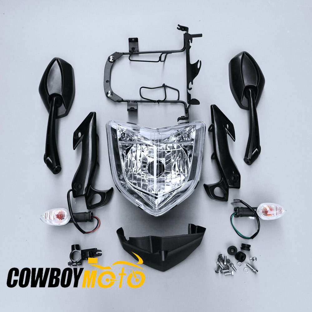 For Yamaha FZ1N 2006-2012 2008 2009 Motorcycle Front Headlight Head Light Lamp Headlamp Bracket Speedometer Bottom Gauge Cover