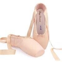 Girls Ladies Canvas Ballet Pointe Shoes Adult Women Dance Ballet Shoes Professional