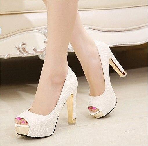 Haute Chaussures Femmes 2 5 Taille Noir Carré Printemps Plate Super Bout blanc Rond 2018 Pompes Pour Et Talons Automne forme Cm 8wXcqd7