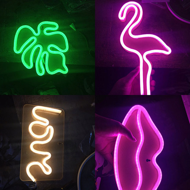 2017 nieuwe led neon verlichting muur decoratieve verlichting ...