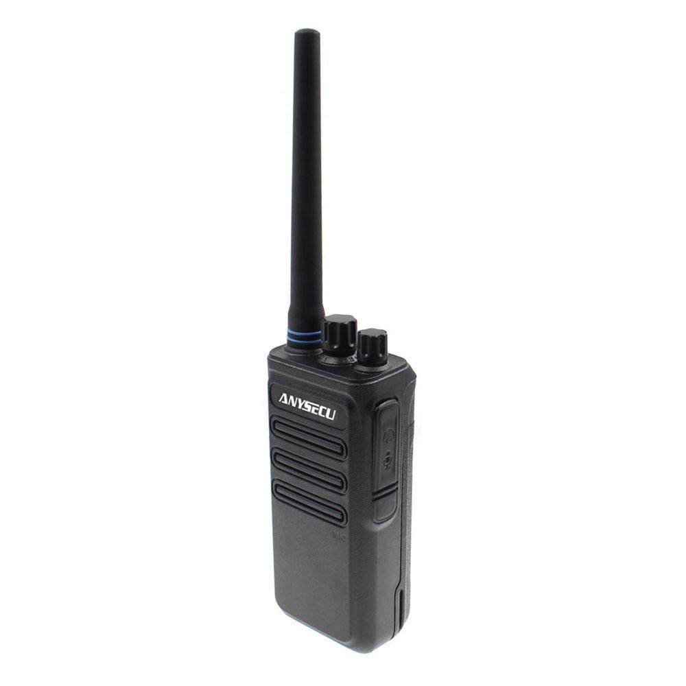 Image 4 - High Power 12W long distance walkie talkie ANYSECU AC 628 UHF Wireless Intercom analog 16CH scrambler Two Way Radio-in Walkie Talkie from Cellphones & Telecommunications