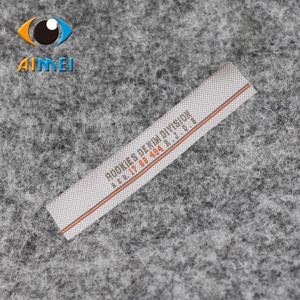 Customize 1000pcs lot Outdoor sports clothing labels custom garment tags woven label main tag handmade stitched
