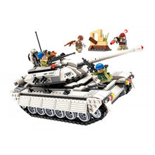 Enlighten Building Blocks Military Thunder Mission Armed Hummer counterattack Tank Corps attack figures Bricks Educational Toys(China)