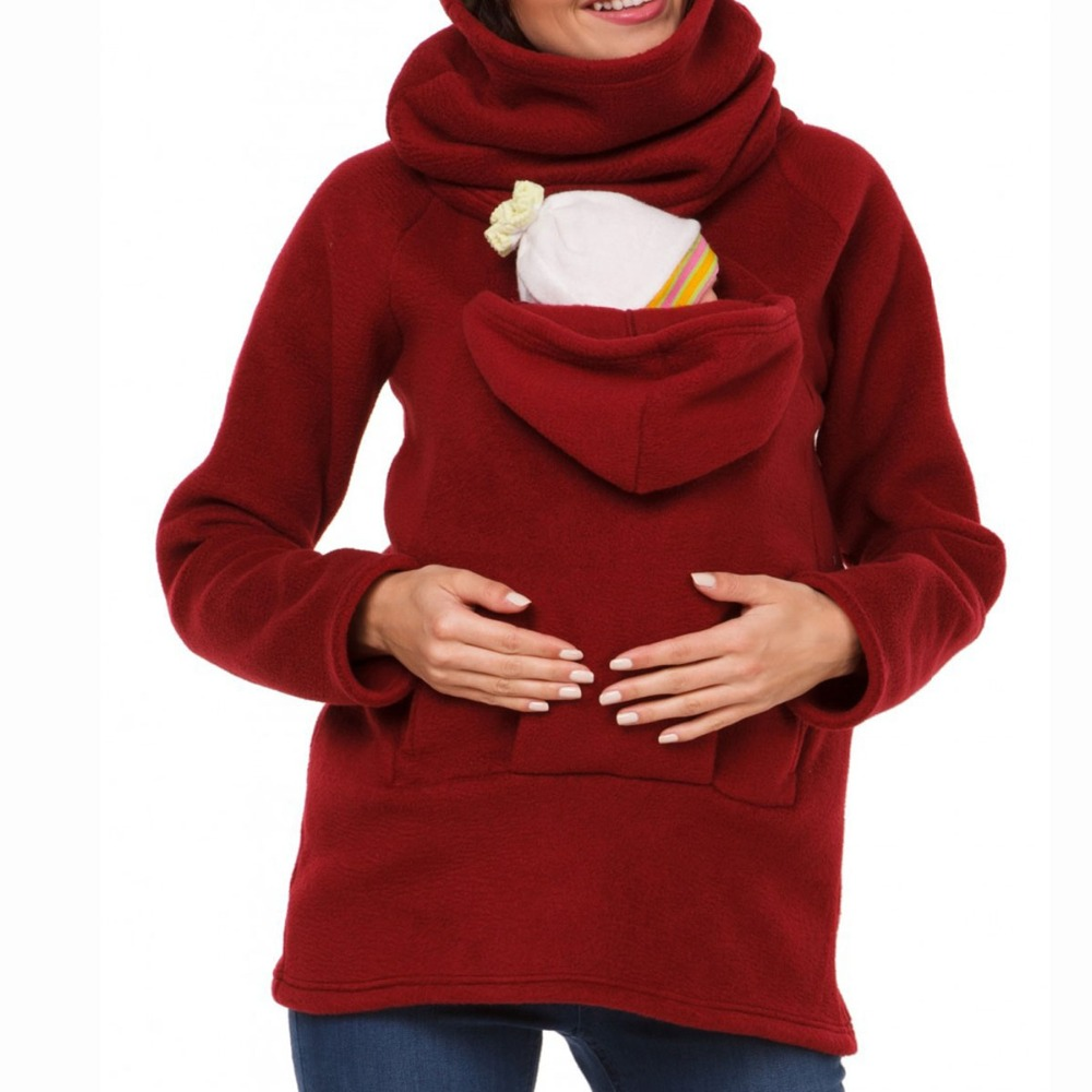 multifunctional parenting mother autum and winter three feature sweater causal solid warm jackets women mother pullover hoodies parenting stress of mother and relationship with children