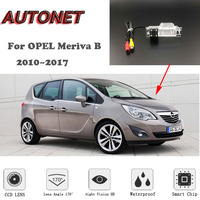 AUTONET HD Night Vision Backup Rear View camera For OPEL Meriva B 2010~2017 RCA Standard /Parking Camera