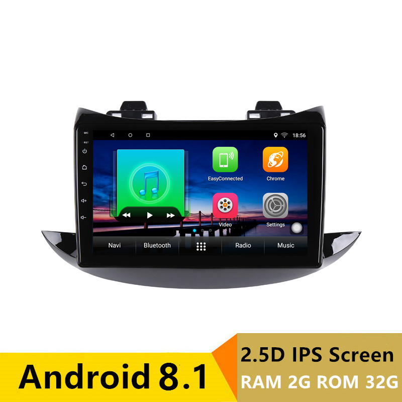 "9"" 2G RAM 32G ROM Android Car DVD Video Player GPS for Chevrolet TRAX 2017 2018 audio car radio stereo navigation WIFI"