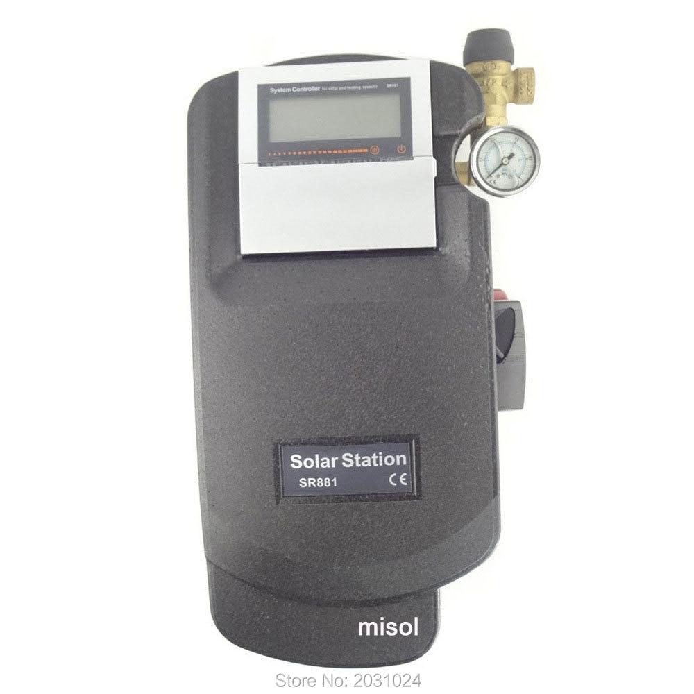 Рабочая станция Солнечной водонагреватель ж/насос, 110v, для солнечного нагрева воды