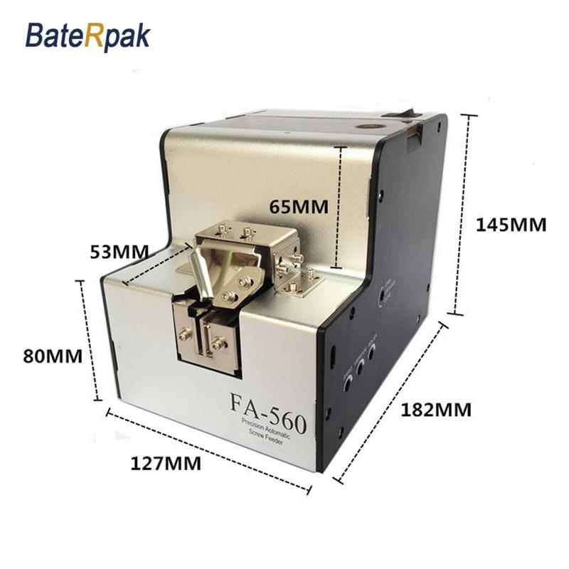 FA-560 BateRpak / FUMA Precisie automatische schroeftoevoer, schroeftoevoer, automatische schroefdispenser, schroefopstelling machine