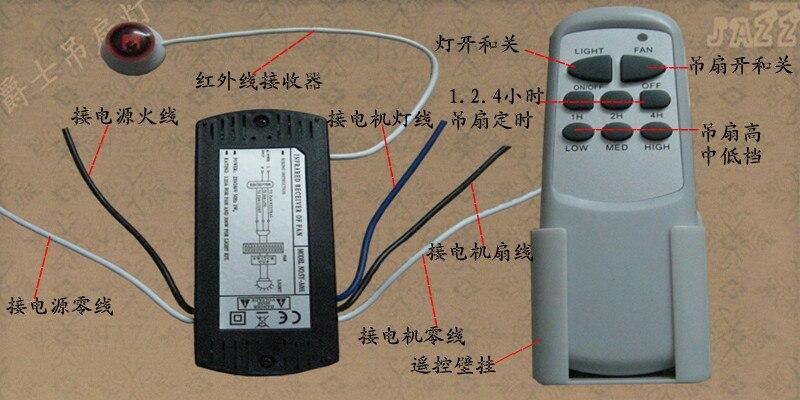 ceiling fan light remote switch