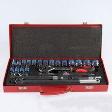 24 шт. набор инструментов ручной для ремонта автомобиля, гаечный ключ набор торцевых механик инструменты