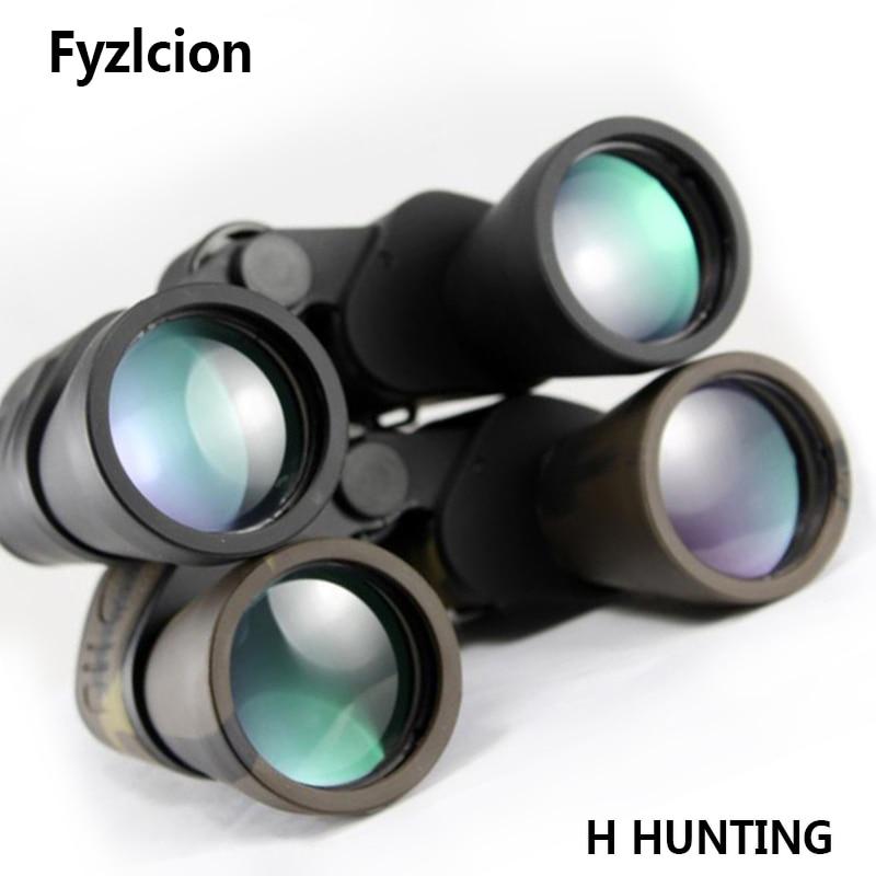 20x50 High Power Binoculars Telescope Green Film Night Vision Black/Camouflage Multi-layer Coating for Outdoor Hunting бинокль yagnob b50cb 20x50 black ск 00002144