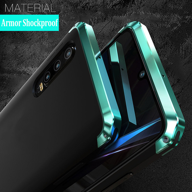 For Huawei P30 PRO Case Hard Plastics Luxury Armor Shockproof Metal Frame Hybrid Phone Cover for huawei p30pro Cases Global 360