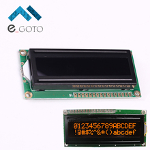 5V LCD1602A 16x2 Red Character Dot Matrix 1602 LCD Display Module Black Background Parallel Port