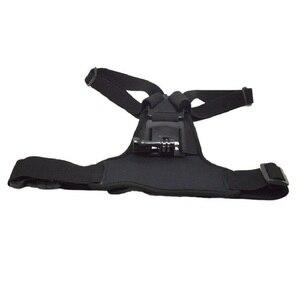 Image 3 - אלסטי גוף לרתום רצועת חזה חיצוני הר רצועת עבור SJCAM XiaoYi מצלמה הר עבור Gopro גיבור 7/6/ 5/4/3/3 +/2/1